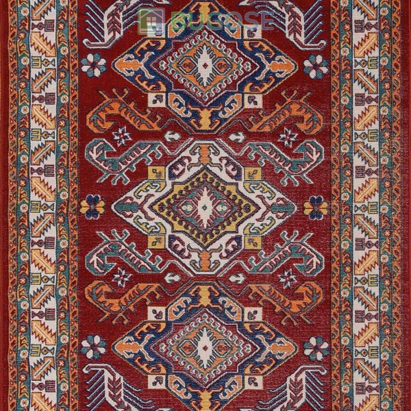 MS RUGS Persian Style Traditional Oriental Medallion Area Rug KLM 50