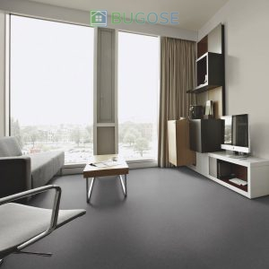 Sheet Vinyl Commercial Flooring Forbo Sphera Element Collection Anthracite 50006 Hospitality Scene 7